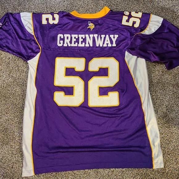 Minnesota Vikings Chad Greenway Jersey Men's XL